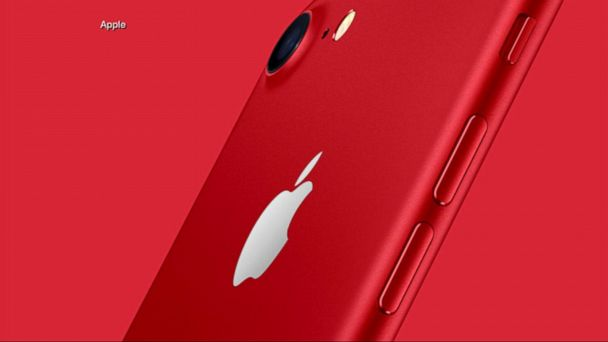 VIDEO:  Apple Unveils Red iPhone 7 and 7 Plus