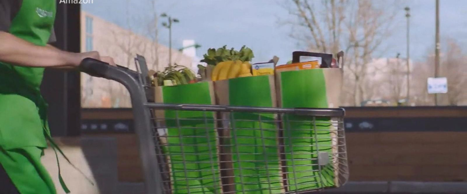 VIDEO: Drive-Through groceries from Amazon