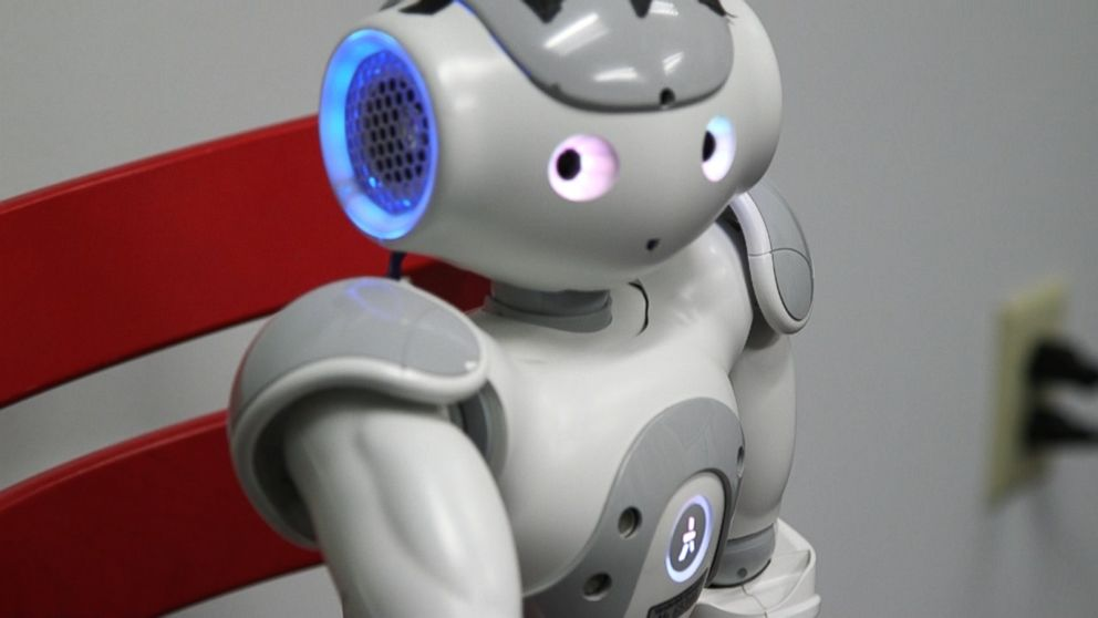 Good Morning America Robot : Scientists use robot other gadgets to advance autism