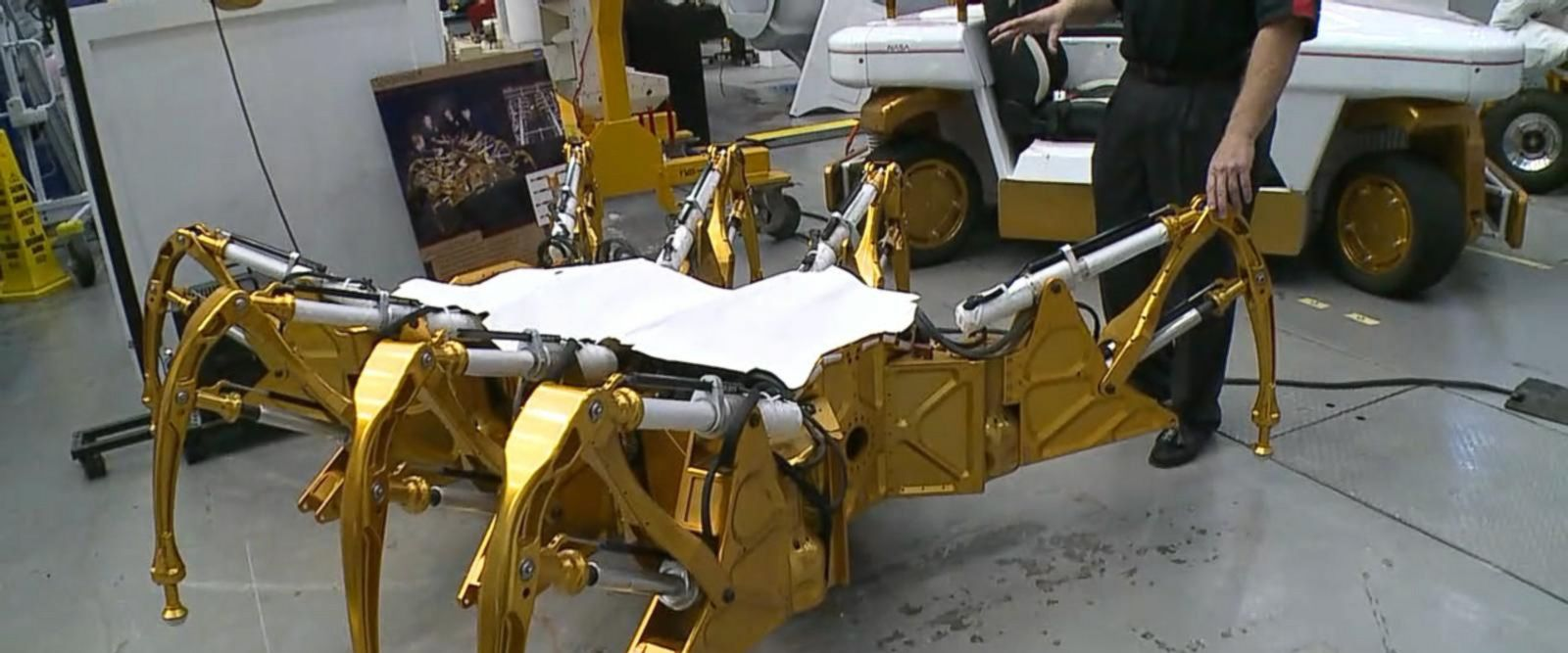 VIDEO: Inside where NASAs robots and rovers were born