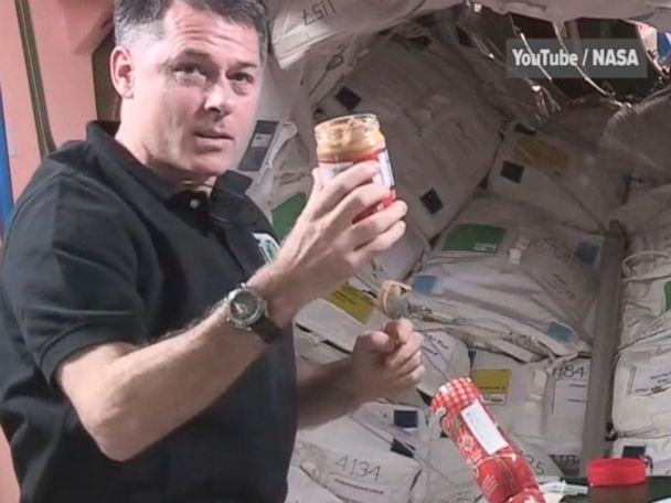 WATCH:  NASA astronaut teaches you how to make PB&J