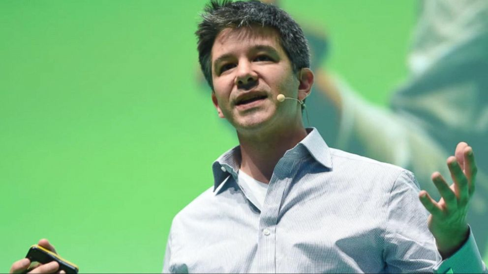 VIDEO:  Uber founder resigns