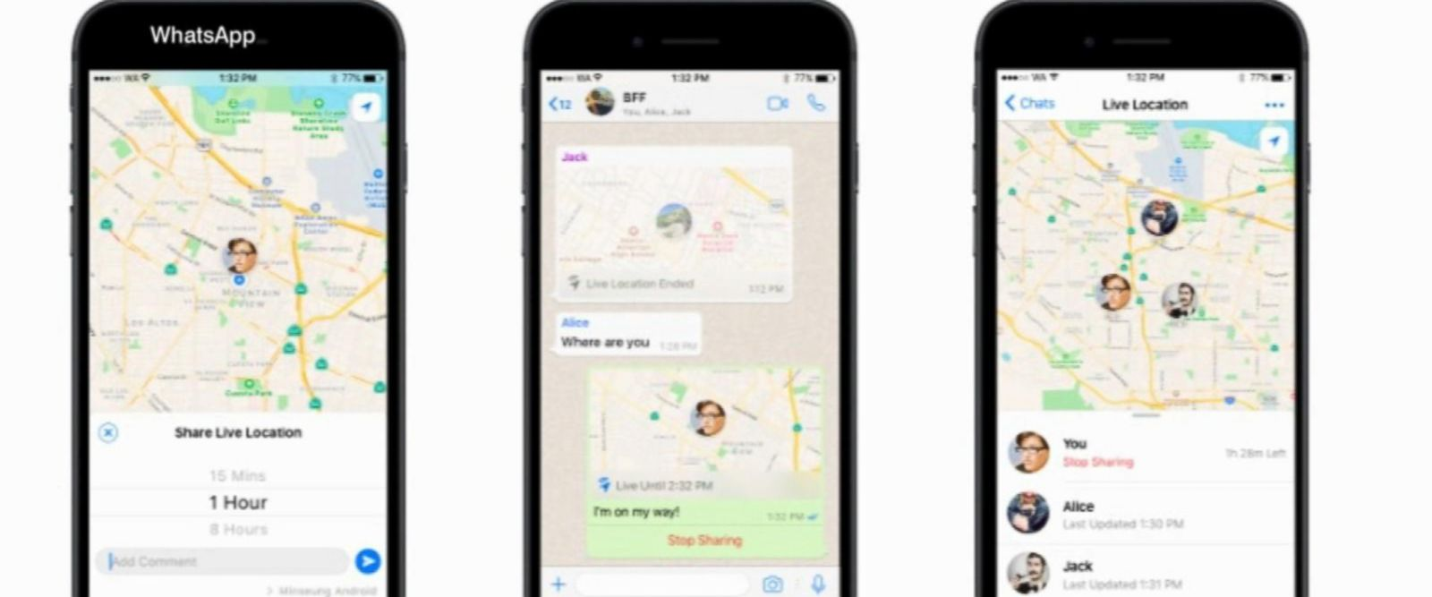 VIDEO: WhatsApp's 'Live Location' allows you to track yourself