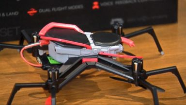 'VIDEO:  Spider-Man drone makes consumer safety group's list of most dangerous toys' from the web at 'http://a.abcnews.com/images/Technology/171115_atm_techbytes_16x9_384.jpg'