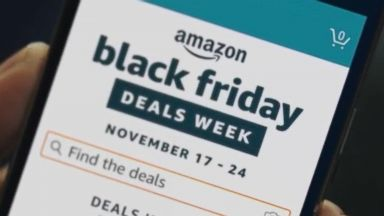 'VIDEO:  Amazon gears up for 'Black Friday'' from the web at 'http://a.abcnews.com/images/Technology/171117_atm_techbytes3_16x9_384.jpg'