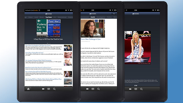The New ABC News Kindle Fire App