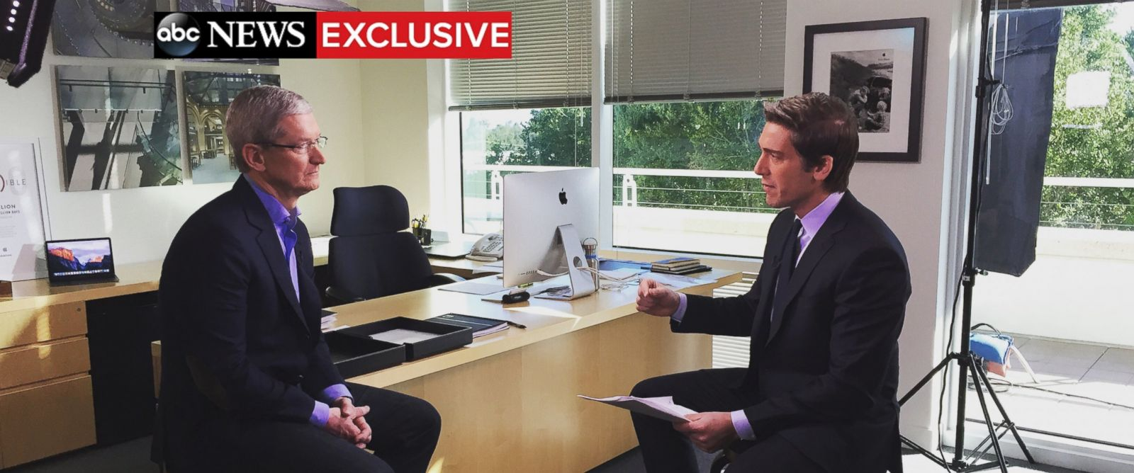 exclusive apple ceo tim cook says iphone cracking software photo apple ceo tim cook sat down abc news anchor david muir for an