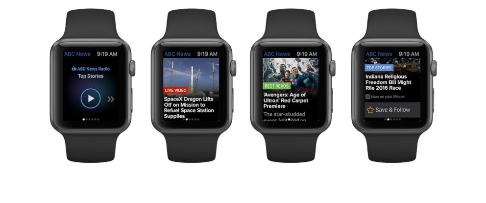 PHOTO: Introducing the ABC News app for the Apple Watch.