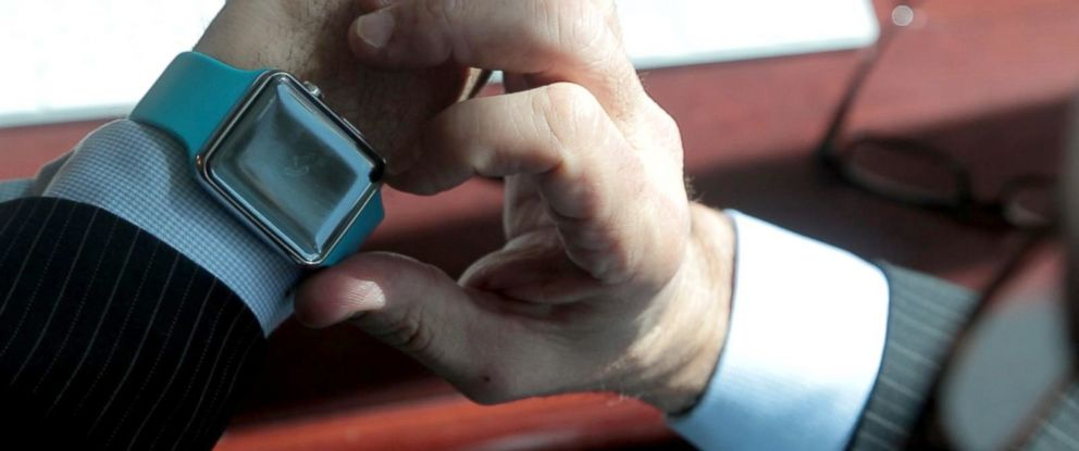 PHOTO: Even though the Apple Watch has yet to hit stores, factories in China are churning out fakes.