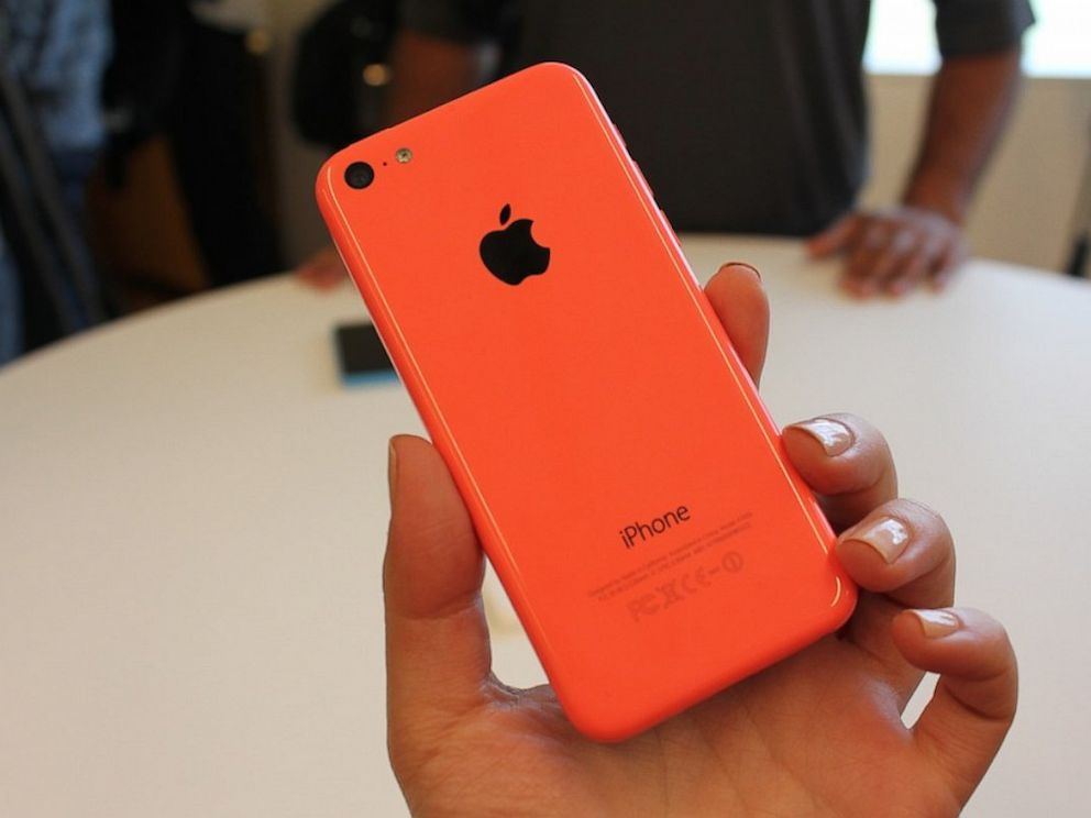 PHOTO: iPhone5C