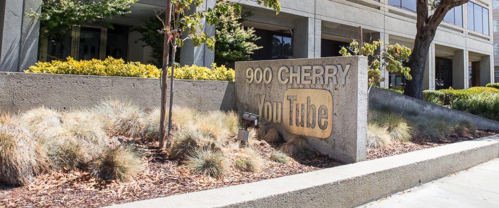 YouTubes headquarters in San Bruno, Calif. is seen here.