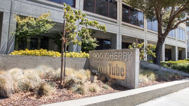 YouTube's headquarters in San Bruno, Calif. is seen here.
