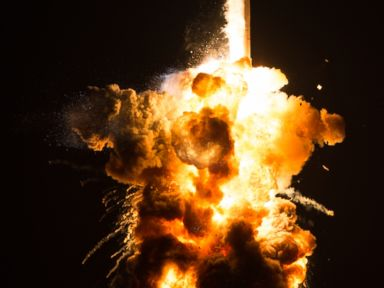 Dramatic Photos Show Last Year's Antares Rocket Explosion ...