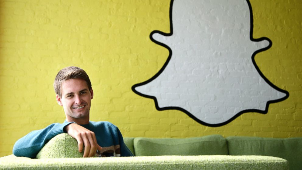 PHOTO: This Thursday, Oct. 24, 2013 photo shows Snapchat CEO Evan Spiegel in Los Angeles, Calif.