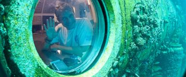 Fabien Cousteau Ends 31-Day Undersea Mission