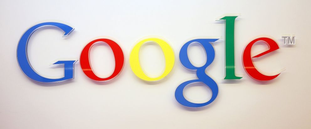 PHOTO: The Google logo is seen inside the companys offices on March 23, 2015 in Berlin.
