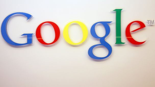 PHOTO: The Google logo is seen inside the company's offices on March 23, 2015 in Berlin.