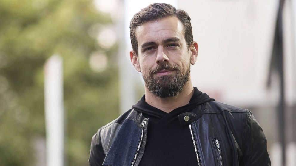 PHOTO: Jack Dorsey, co-founder and CEO of Square and Twitter, poses for a portrait at Black Velvet Espresso, April 11, 2016, in Melbourne, Australia.