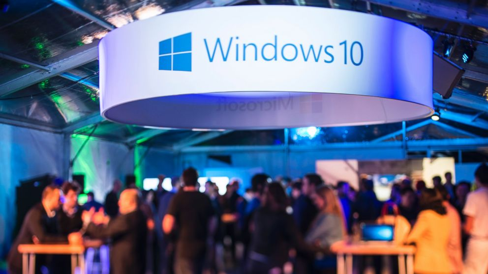 PHOTO: Launch of Microsofts Windows 10 in Sydney on July 29, 2015 in Sydney, Australia.