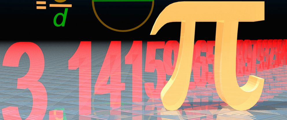 """PHOTO: The """"Pi"""" symbol, shown in this undated photo, is a mathematical constant that is the ratio of a circles circumference to its diameter."""