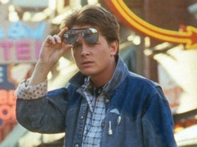 PHOTO: Michael J. Fox is pictured in a scene from Back To The Future in 1985.