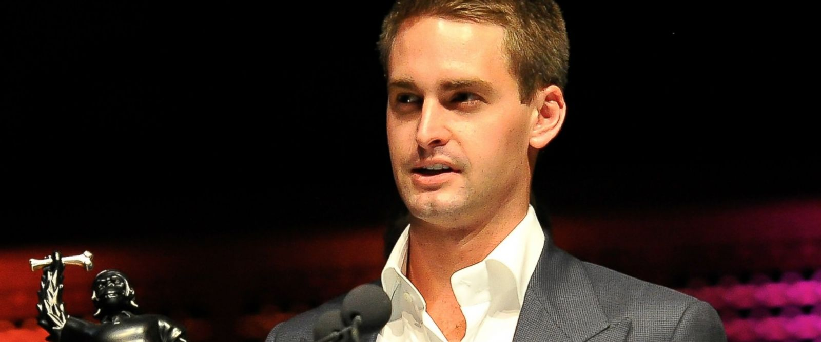 PHOTO: Evan Spiegel of Snapchat is pictured on Feb. 10, 2014 in San Francisco, Calif.