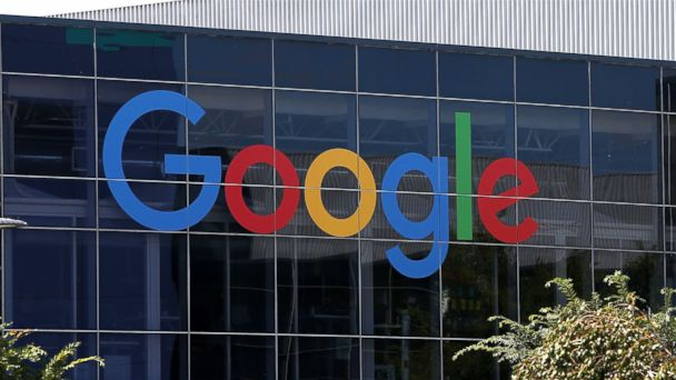 PHOTO: The new Google logo is displayed at the Google headquarters, Sept. 2, 2015 in Mountain View, Calif.