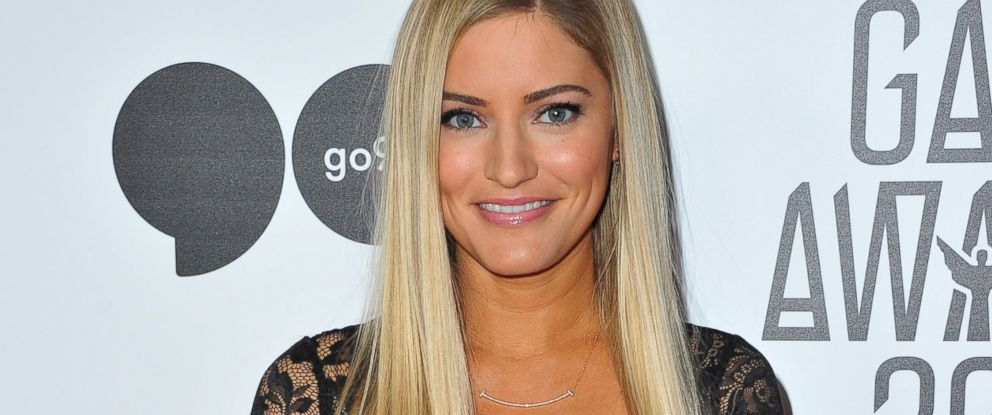 PHOTO: YouTube personality iJustine arrives at The Game Awards 2015 at Microsoft Theater, Dec. 3, 2015, in Los Angeles.