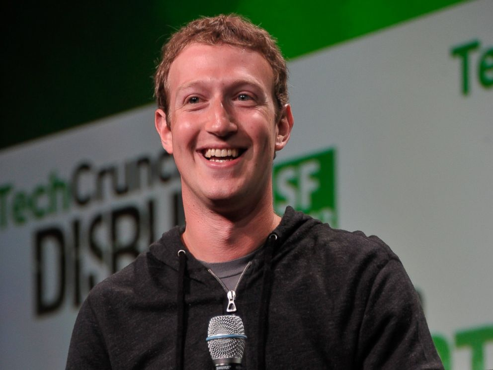 PHOTO: Mark Zuckerberg of Facebook attends Day 3 of TechCrunch Disrupt SF 2013 at San Francisco Design Center in this Sept. 11, 2013, file photo.