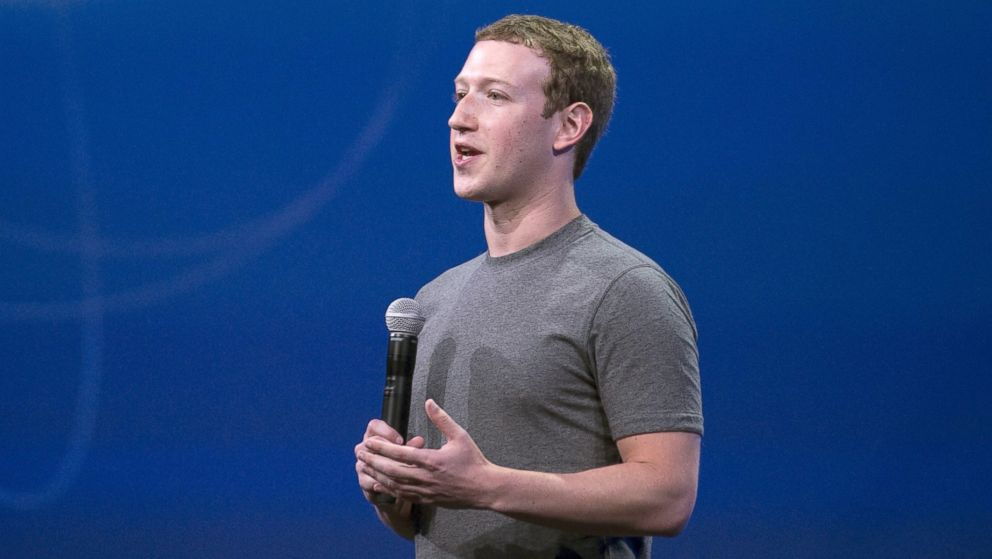 PHOTO: Facebook CEO Mark Zuckerberg speaks at the F8 summit in San Francisco, March 25, 2015.