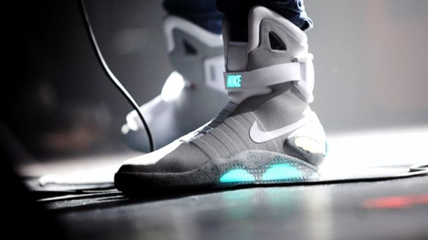 GTY nike mag back future sk 140218 16x9 608 Nike Goes Back to the Future With Self Tying Sneakers
