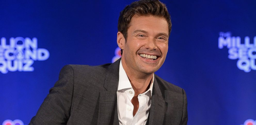 PHOTO: Ryan Seacrest attends The Million Second Quiz Cocktail Reception in New York, Aug. 28, 2013