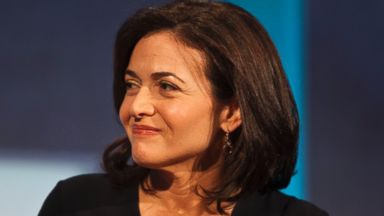 PHOTO: Sheryl Sandberg, COO of Facebook is seen during a panel discussion at the Clinton Global Initiative (CGI) meeting on Sept. 24, 2013 in New York City.
