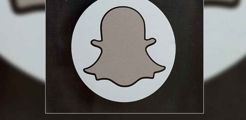 PHOTO: Logo of Snapchat is seen at the front entrance new headquarters of Snapchat, Nov. 14, 2013 in Venice, Calif.