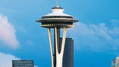 PHOTO: The Federal Aviation Administration said it is looking into a drone that recently hovered above the observation deck of Seattles famous Space Needle.