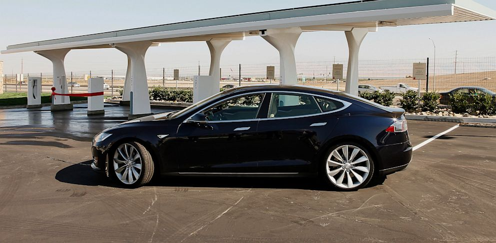 PHOTO: Tesla Cars Exceed Safety Standards