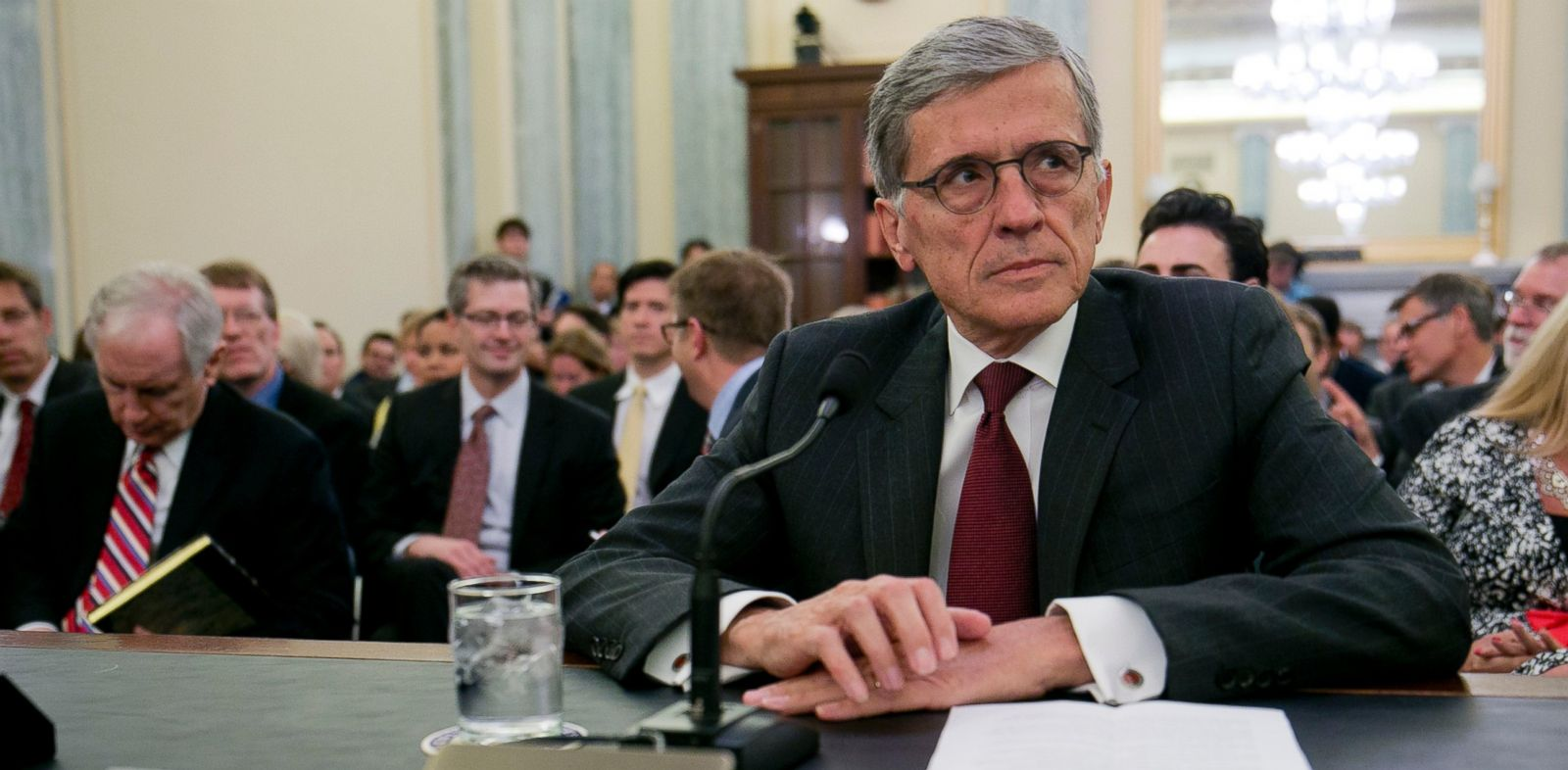 PHOTO: Tom Wheeler, President Barack Obamas nominee as chairman of the FCC