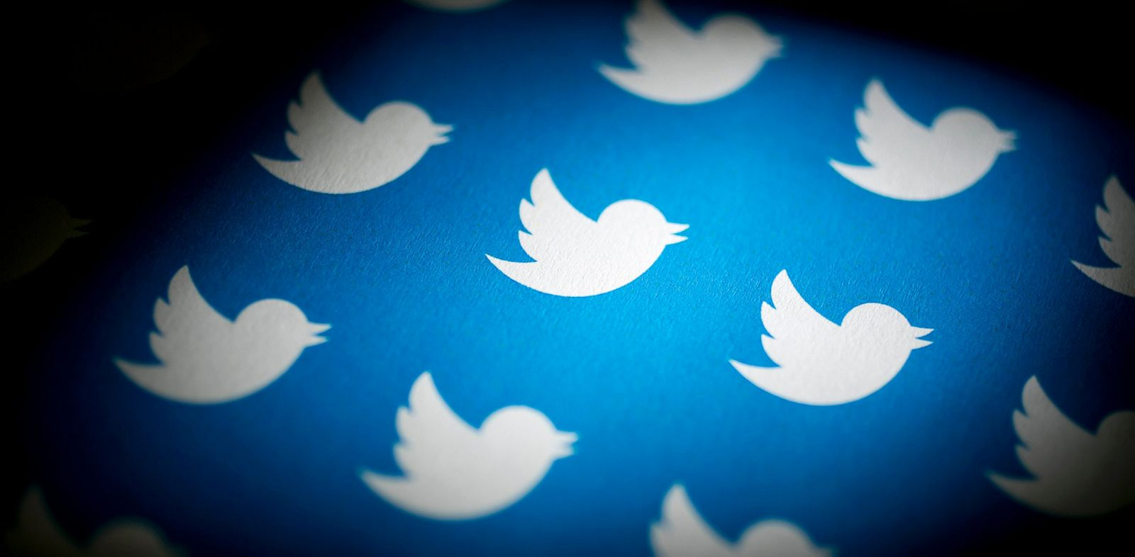 PHOTO: Twitter Inc. logos are arranged for a photograph in Washington, D.C., Sept. 13, 2013.