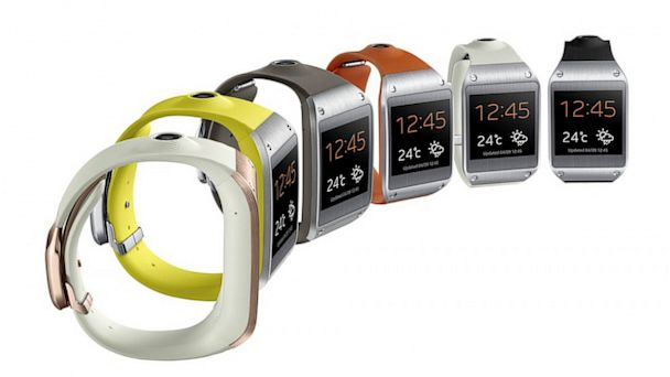 PHOTO: Samsungs Galaxy Gear smartwatch comes in multiple colors.