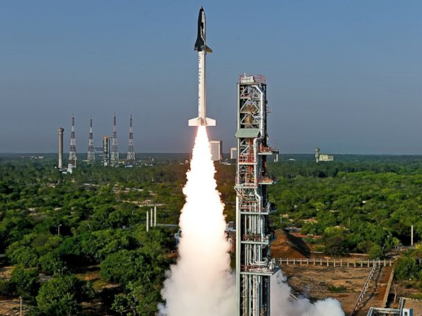 India Launches Reusable Space Shuttle Prototype