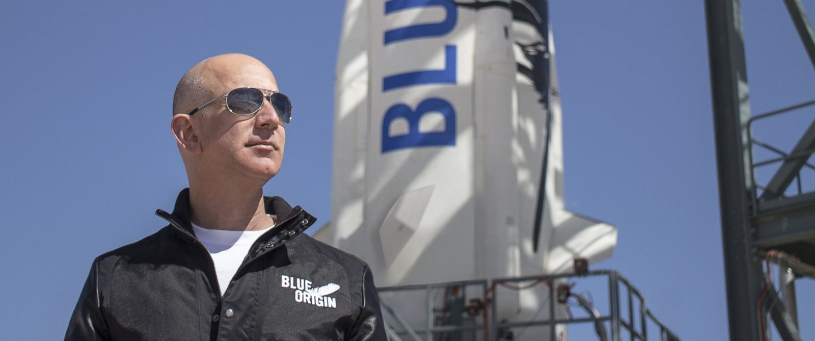 PHOTO:Jeff Bezos, Founder Of Blue Origin Aerospace, is pictured in this undated file photo.