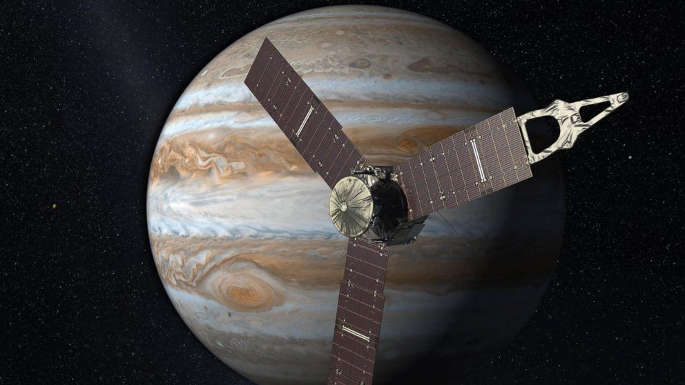 Juno Spacecraft Reaches Jupiter After 5-Year Journey