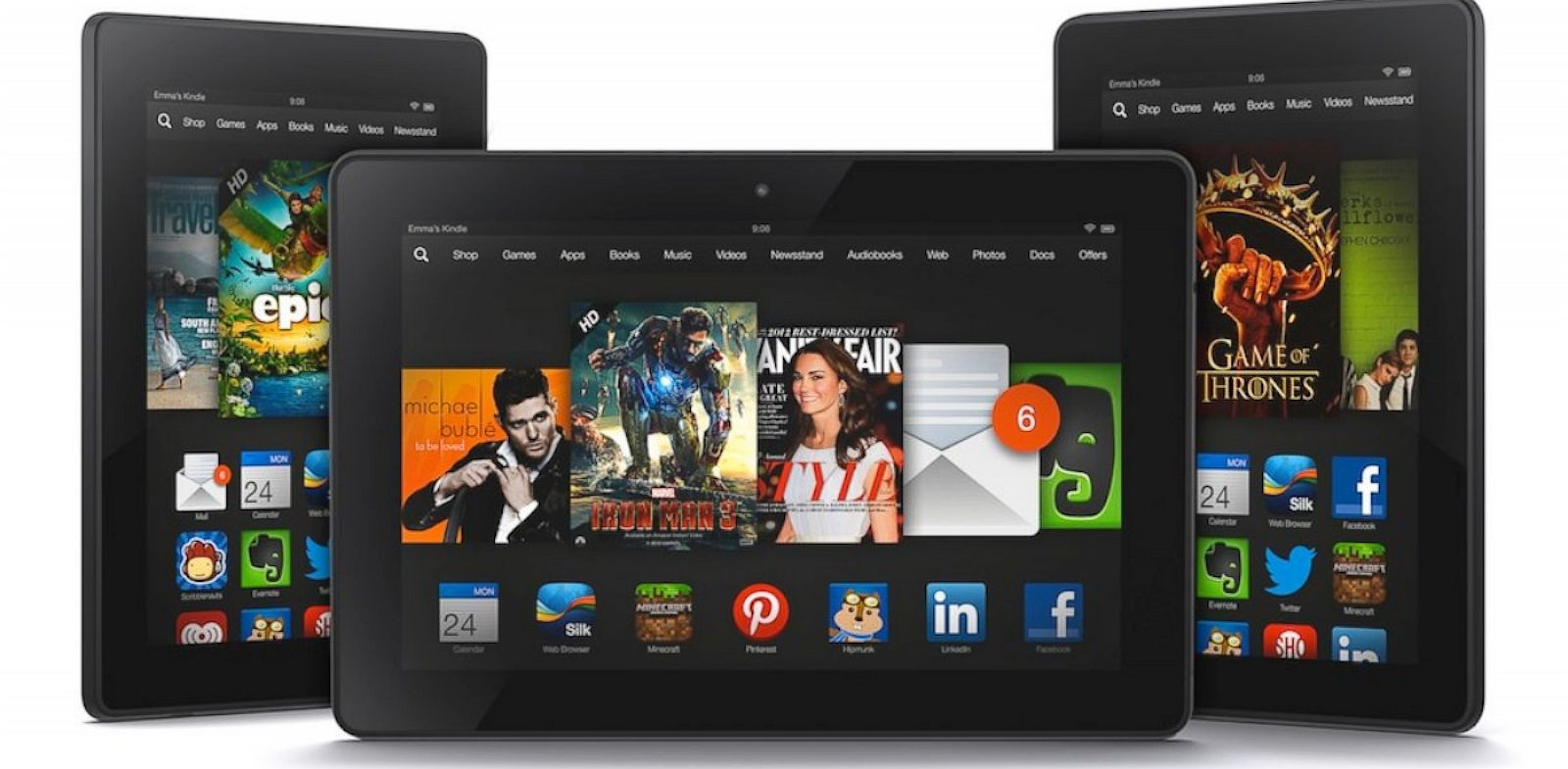 PHOTO: The Kindle Fire HD