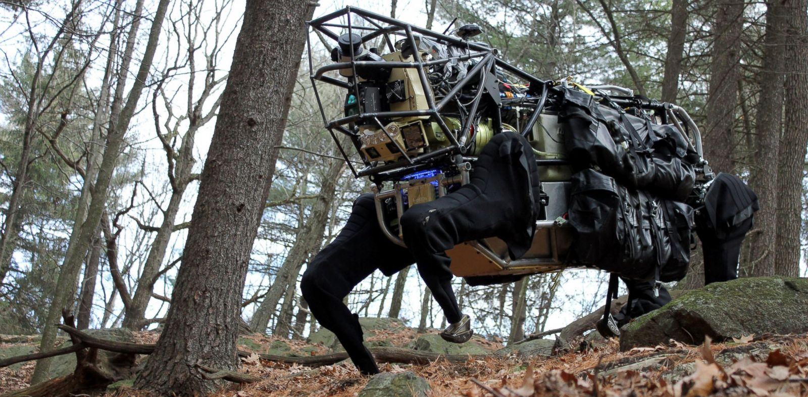 PHOTO: The LS3 is one of Boston Dynamics many robots.