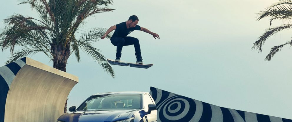 PHOTO:The Lexus hoverboard is seen in this undated file photo.