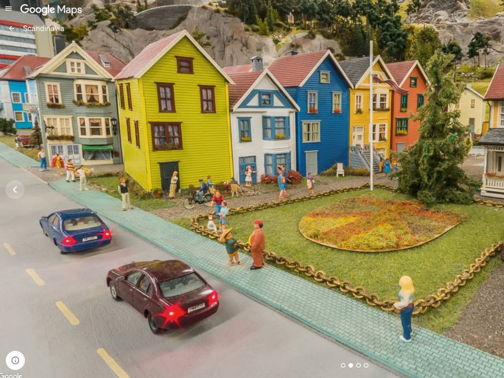 PHOTO:Googles first ever mini-Street View of Miniature Wunderland, the worlds largest miniature model railway in Hamburg, is seen in this undated photo.
