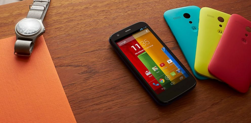 PHOTO: The Moto G smartphone is a high class phone at an affordable price.