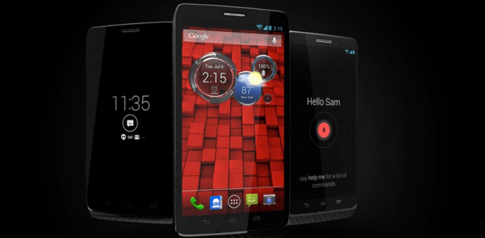 PHOTO:Motorola and Verizon have teamed up