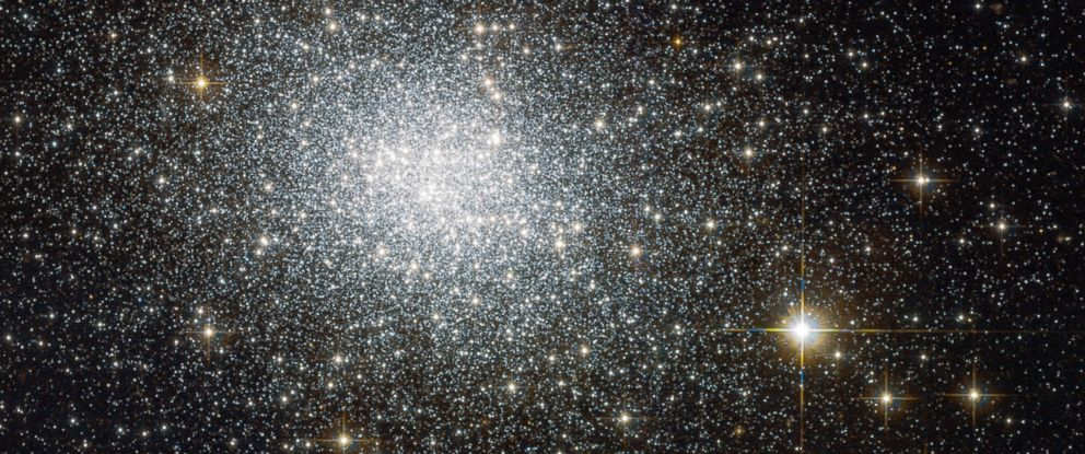 PHOTO: NASA has released an image taken by the Hubble space telescope of a cluster of stars known as NGC-121, in one of our neighboring galaxies.
