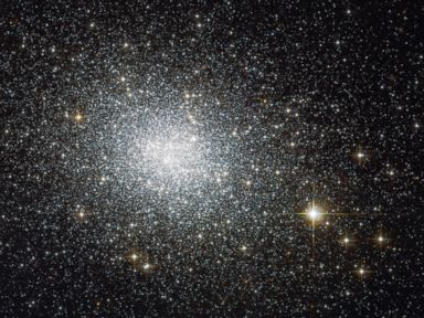 Hubble Telescope Snaps Stunning Photo of Star Cluster in Neighboring Galaxy